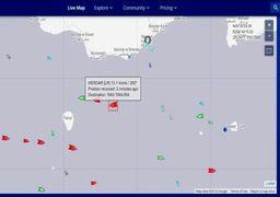 خروج کشتی انگلیسی از آبهای ایران
