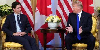 رایزنی ترامپ با نخست وزیر کانادا