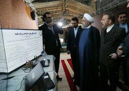 بازدید حسن روحانی از نمایشگاه کسب و کارهای آینده/ نشست با وزیر و معاونان وزارت ارتباطات