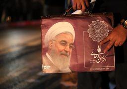 اولین پیام توییتری روحانی پس از پیروزی در انتخابات منتشر شد