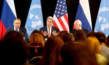 بیانیه مشترک آمریکا و روسیه درباره توافق ترک مخاصمه در سوریه