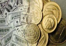 دلار؛ همچنان زندانی است  /سکه آرام گرفت