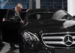 خودرو جدید و قدرتمند هیبریدی مرسدس بنز +عکس