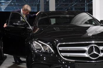 مدل کمیاب خودرو جدید بنز در ایران +عکس