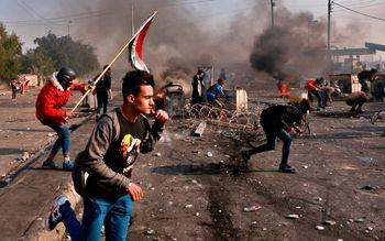 10 کشته در اعتراضات 48 ساعت گذشته عراق