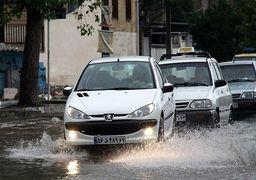 سیلاب در شهرهای غرب مازندران