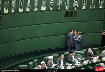 نعمت زاده در پارلمان