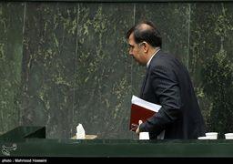 حضور غیرمنتظره آخوندی در صحن مجلس