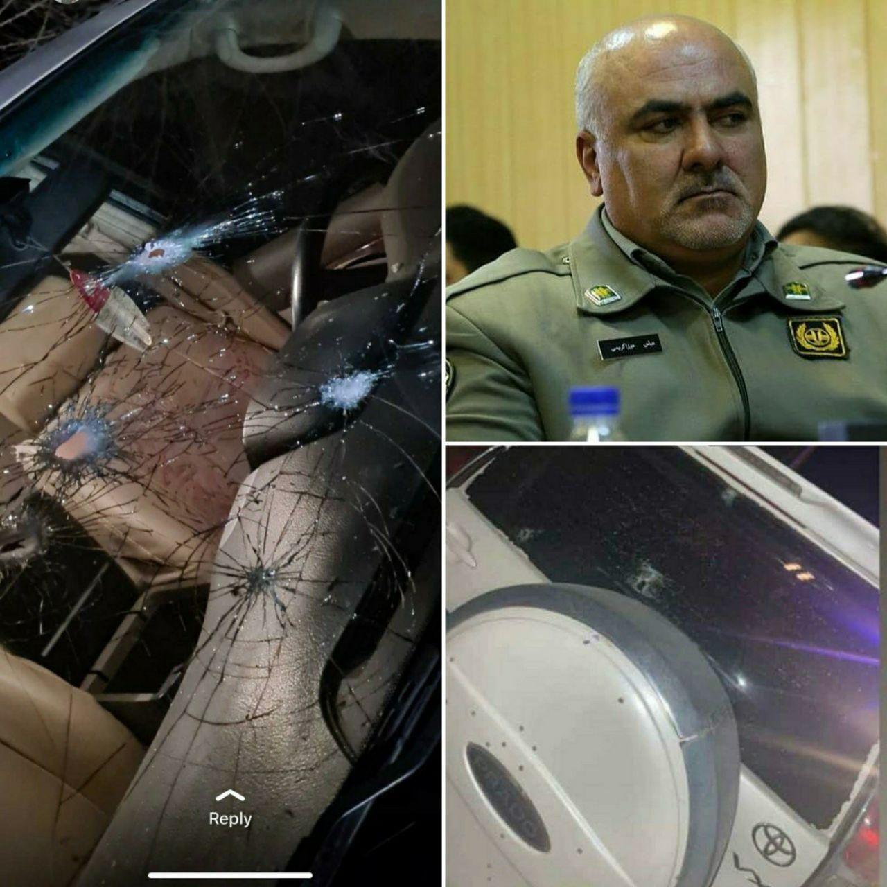 رئیس سابق اداره محیط زیست شهرستان دماوند با رگبار گلوله ترور شد+ تصاویر