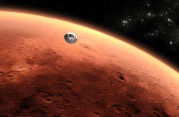 تصویر بی سابقه و حیرت انگیز از سیاره مریخ