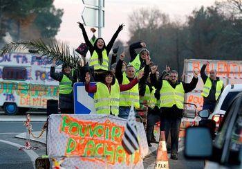 تظاهرات فرانسه به یک هیولا مبدل شد