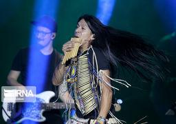 تصاویری از کنسرت «لئو روخاس» درسالن وزارت کشور
