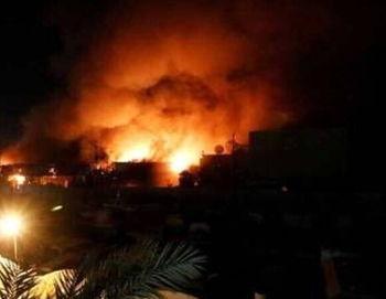 اصابت دو موشک به فرودگاه بغداد