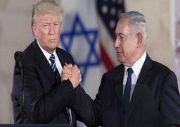 واکنش ترامپ به شکست سیاسی نتانیاهو