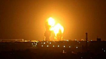 فیلمی از پایگا عینالأسد پس از حمله موشکی
