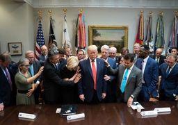 ترامپ هم به خدا متوسل شد!/ اعلام روزی ملی دعا