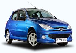 آخرین تحولات بازار خودروی تهران؛ پژو206 به 110 میلیون تومان رسید!+جدول قیمت