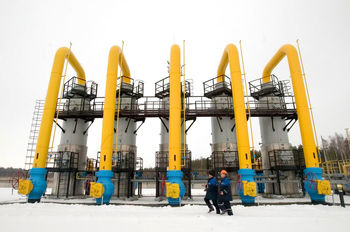 کاهش ۳۵ درصدی قیمت گاز صادراتی روسیه به اروپا