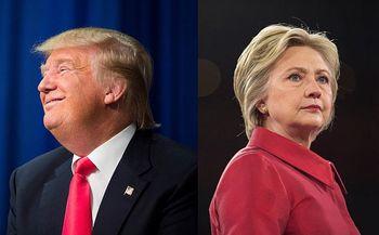 برتری 5 درصدی هیلاری کلینتون بر دونالد ترامپ در تازهترین نظرسنجی