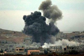 تجاوز موشکی ائتلاف آمریکایی به ارتش سوریه