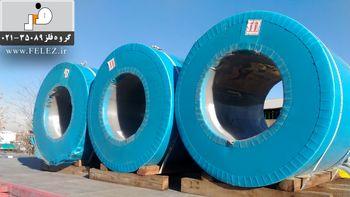 تأمین نیاز کارخانجات تولیدی و صنایع داخلی به انواع ورق استیل با گروه فلز