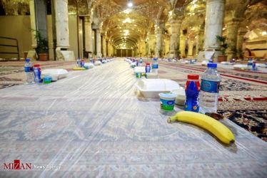 افطاری در حرم حضرت زهرا(س) 12