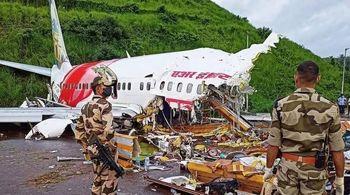 آخرین خبرها از سانحه هوایی در هند
