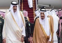 امیر قطر از پادشاه عربستان عذرخواهی می کند