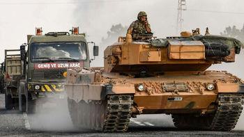 حملات توپخانهای ترکیه به حومه شمالی حسکه سوریه