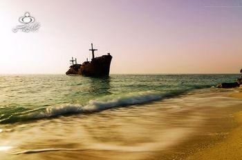 """""""کشتی یونانی"""" کیش نابود می شود؟"""