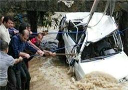 15 استان کشور گرفتار سیل و آبگرفتگی شدند
