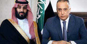 بن سلمان و الکاظمی توافقنامه امضا کردند
