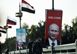 استقبال گسترده مصر از ولادمیر پوتین + عکس