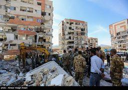دیوار نوشته های مردم مناطق زلزله زده برای تشکر از ارتش + عکس
