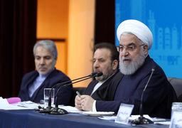 روحانی : برای شرایط امروز مقصر نیستیم/کلوخ دوست خیلی دردناک است و با سنگ دشمن فرق میکند