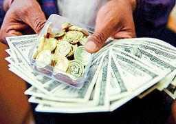 رکوردزنی بازدهی دلار در سال 96 / نوسانات محدود سکه