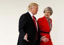 آخرین تلاش انگلیس برای آینده برجام! «ترزا می» با ترامپ گفتگو کرد+عکس