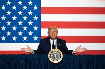 ترامپ خطاب به هوادارانش: پیروز قاطع انتخابات خواهیم بود
