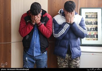 سرقت موبایل در ایران با استفاده از گاز اشک آور ! +عکس