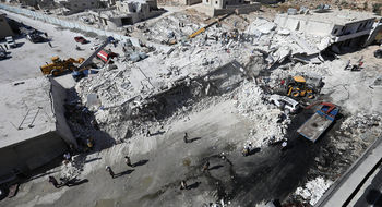 انفجار انبار مهمات در سوریه چندین کشته بر جای گذاشت