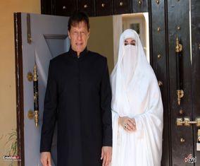 پوشش همسر عمران خان، نخست وزیر پاکستان در مراسم تحلیف(گزارش تصویری)