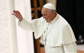 دعا عجیب پاپ فرانسیس!