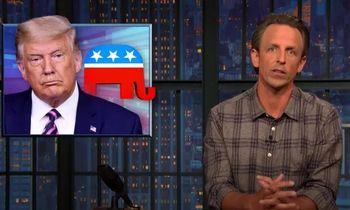 حمله تند یک مجری تلویزیون به ترامپ/با باز کردن دهانت اغتشاش میکنی