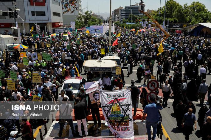 راهپیمایی روز قدس - تهران