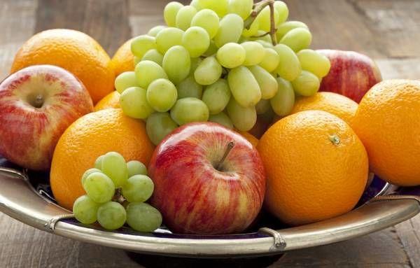 زمان خوردن میوه