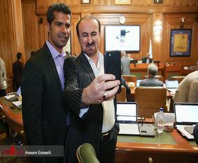 عکس های یادگاری آخرین جلسه شورای شهر چهارم تهران