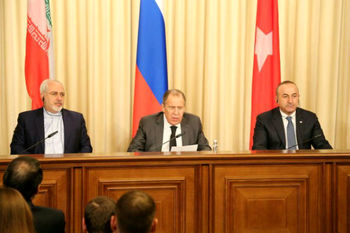 بیانیه ظریف، لاوروف و چاوشاوغلو در پایان نشست ژنو