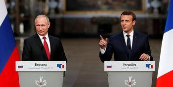 واکنش تازه روسای جمهور روسیه و فرانسه به درگیری در قره باغ