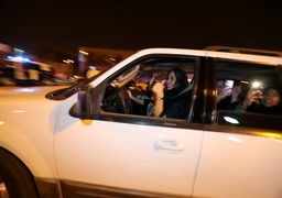 تصاویری از زنان سعودی پشت رول اتومبیل