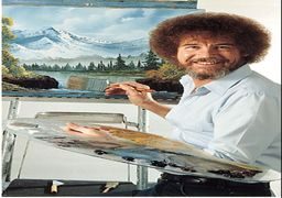 معمای بزرگ زندگی سازنده برنامه لذتنقاشی؛ چرا هیچ تابلویی از نقاشیهای «باب راس» موجودنیست؟